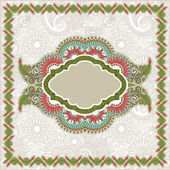 Ornate floral carpet background — Stock Vector