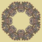 Kruhu ornament — Stock vektor