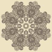 Circle ornament — Stock Vector