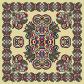 Ornamental Seamless Carpet Design — Stock Vector
