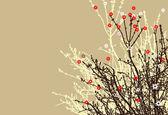 Conception des fleurs — Vecteur
