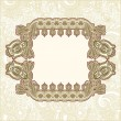 Vintage frame design — Stock Vector
