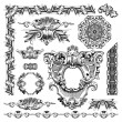 Royalty-Free Stock Vector Image: Hand draw vintage sketch ornamental design element
