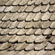 Stock Photo: Old wooden shingles