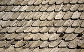 Old wooden shingles — Stock Photo