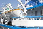 Rescue equipment in maritime transport — Stock Photo