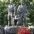 Постер, плакат: KIEV UKRAINE MAY 6 :Memorial to the soldiers who fought in Af