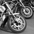 Stock Photo: Motorcycles on the streets