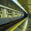 Ukrainkiev subway, Colosseo station — Stock Photo #8221582