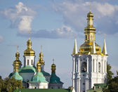 Kiev Ukraine Saint Sophia Cathedral in the background of the sky — Stock Photo