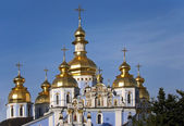 St. Michael's Cathedral zalotovehy old architecture Kiev Ukraine — Stock Photo