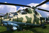 RADOM, Ukraina - May 8 : Mil Mi-24V. International Air Demonstra — Stock Photo