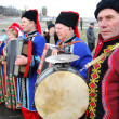 KIEV, UKRAINE - JAN 3: Ukraine annual festival of folk culture. — Stock Photo
