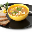 Soup with beans — Stock Photo #8224166