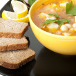 Soup with beans — Stock Photo #8224172