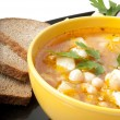 Soup with beans — Stock Photo #8224177