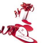 corazones de San Valentín estilizada — Foto de Stock   #8335895