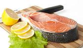 Trancio di salmone — Foto Stock