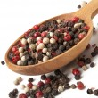 Mixture of dried peppercorns — Stock Photo #8481948