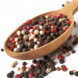 Mixture of dried peppercorns — Stock Photo