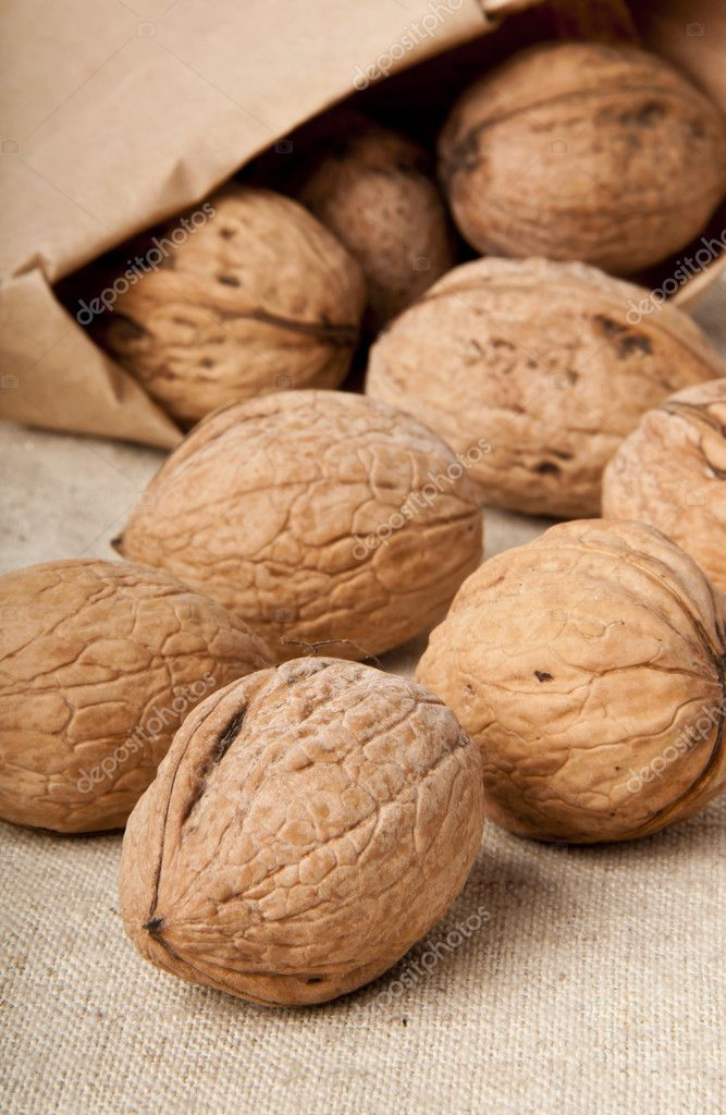 Walnuts — Stock Photo #8619037