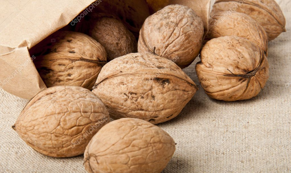 Walnuts — Stock Photo #8619042