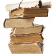 Pile of old books and scrolls — Stock Photo #8710684