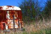 De gegooid bus — Stockfoto