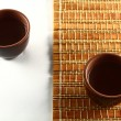 Stock Photo: Sake cup