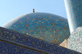Imám mešity v isfahánu — Stock fotografie