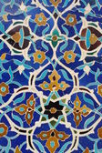 Persian tiles — Stock Photo