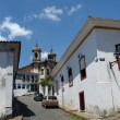Stock Photo: Sidewalks of Ouro Preto