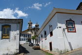 Sidewalks of Ouro Preto — Stock Photo