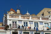Alfama district in Lisbon — Stock Photo
