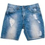 Denim shorts — Stock Photo