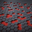 Hex technology abstract — Stock Photo