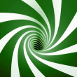 Stock Photo: Abstract green spiral