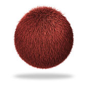 Fluffy sphere — Stock Photo