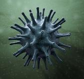 Virus-abbildung — Stockfoto