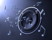Resumen de música — Foto de Stock