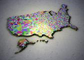 USA counties. — Stock Photo