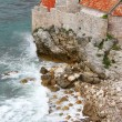 Old town in Budva Montenegro - Stock Photo