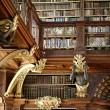 Library of Stift Melk in Austria - Stock Photo