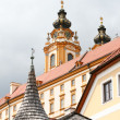 Stift Melk monastery in Austria - Stock Photo