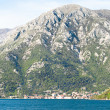 The Bay of Kotor view in spring - Foto Stock