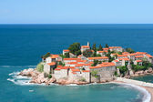 Sveti Stefan resort island in Montenegro — Stock Photo