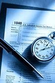 Formulario de impuestos — Foto de Stock