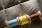 Thread bobbins — Stock Photo