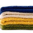 A pile of towels — Stock Photo