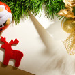 Envelope on the xmas background — Stock Photo #8402200